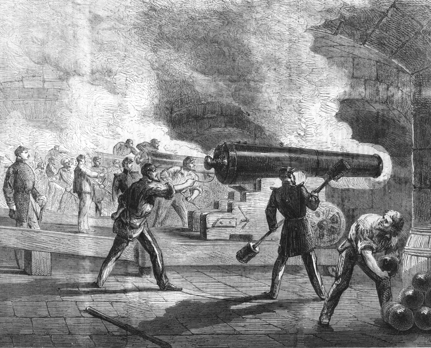 1861 battle to save Fort Sumter