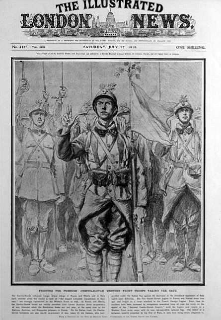 1918 czech troops